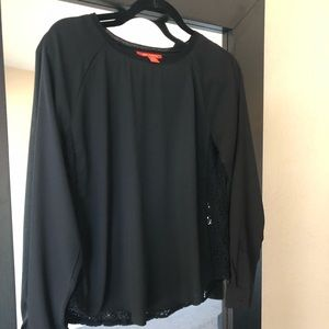 Joe Fresh Tops - Nordstrom Joe fresh classic black blouse